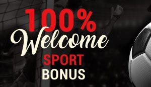 100% Welcome sport bonus